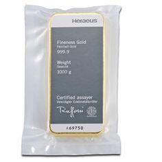 1kg Gold Bullion | Heraeus Gold Bar | 1000gr