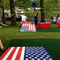 T.Thomas - Made these for our Fourth of July BBQ and sadly it poured down rain so we could not play. But have played since and love it!     cornhole