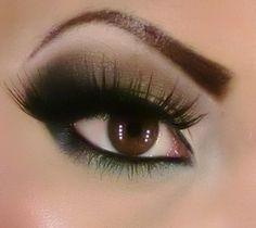 Youtube.com/kmbmakeup army green makeup tutorial