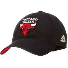 8733b402de1 Chicago Bulls Black Primary Logo Flex Fit Hat