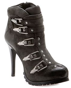 Ash 'Extreme' Leather Mid-Calf Boot