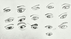 Eyes sketch 3 #beginner