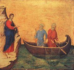 Calling of Peter and Andrew // DUCCIO di Buoninsegna