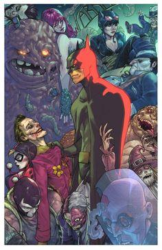 The Dark Knight vs Arkham | Bryan Valenza