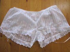 Fifi Chachnil White cotton tap pants