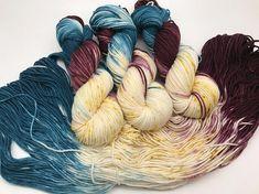 Trevor Morgan DK Hand dyed yarn DK Weight Superwash Merino