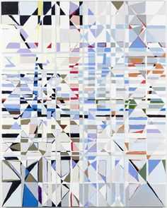 Mette Winckelmann . Ethnic Behaviour, 2006, acrylic on canvas, 150 x 120 cm.http://decdesignecasa.blogspot.it