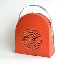Minerva GA 45 Pop Automatic Record Player, 1968 Mario Bellini