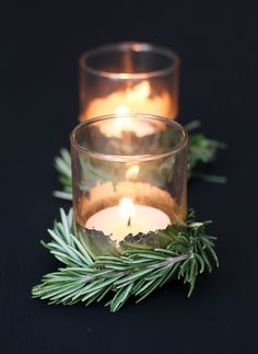 DIY Holiday Votives