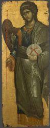 Archangel Gabriel. Constantinople, 14th c. Vatopedi Monastery, Mt Athos, Greece.