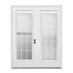 This WILL be our patio room door! Blinds INSIDE the glass! :)