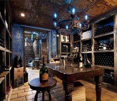 wine cellar by Elvis Restaino