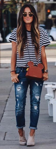stripes and rips