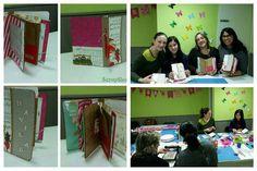 Os enseño el Taller ''Album de Navidad'' terminado!! Os ha quedado muy chulo chicas!!! Enhorabuena!!  #scrapshu #scrapbook #scrapbooking #scrapbook #talleres #talleresquemolan #tallernavideño