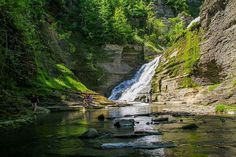 This Secret Waterfall Swimming Hole Is Just A Few Hours Away From Toronto - Narcity Road Trip Essentials, Road Trip Hacks, Road Trips, Disney Vacations, Family Vacations, Swimming Holes, Travel Gadgets, Disney Cruise Line, Galveston