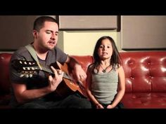 Rolling in the Deep - Adele Acoustic Cover by Jorge and Alexa Narvaez    Too Cute!