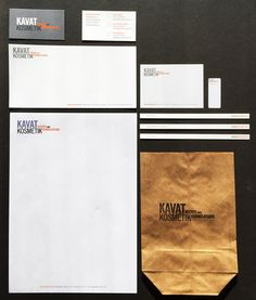 Kavat Kosmetik, stationary identity, graphic design, web, ads, prints) Design Web, Graphic Design, Stationary, Identity, Ads, Silver, Prints, Web Design, Design Websites