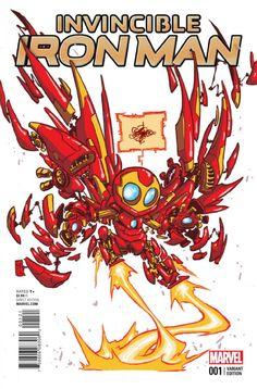 Invincible Iron Man #1, la preview