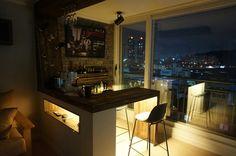 [홈바 인테리어] 집에서 즐기는 한잔의 여유 : 네이버 블로그