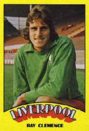 Liverpool goalkeeper Ray Clemence in 1973.