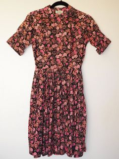 1950s Liberty of London floral print day dress