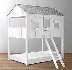 Lovely Cabin Loft Bed Trundle