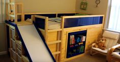This Dad Transforms IKEA Furniture Into A Stunning, Multipurpose Kid's Bed1
