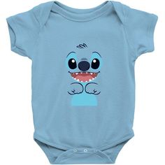 Looking for stitch baby bodysuit by salmanaz on an awesome, coolest infant clothing. buy your own custom infant clothing at artistshot your best clothing option. Disney Baby Clothes, Newborn Boy Clothes, Cute Baby Clothes, Baby Disney, Baby Jordan Shoes, Pregnancy Announcement Gifts, Baby On The Way, Baby Fever, Future Baby