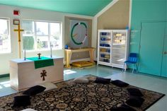 photos of Goldy Play rooms | Our Godly Play Classrooms