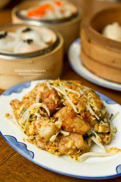 Wok Fried Raddish Cake with Egg and Bean Sprout #dimsum #lukyuteahouse #starhillgallery #raddishcake #chinesefood
