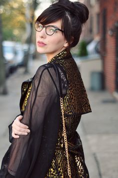 I'm on the hunt for new glasses and loving the ones that look my mom wore in the 1950's.  Too marmish?