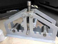 Image result for roladora de tubos casera