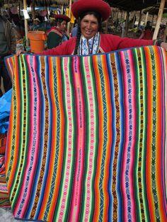 bolivian blankets….