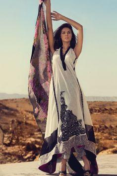 Typical Pakistani dress , Shalwar Kameez and Dupatta (shawl)