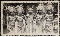 Traditional Bali Dancers c. 1920