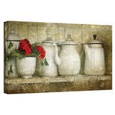 Found it at Wayfair - Art Wall David Liam Kyle 'Flower with Pots' Gallery-Wrapped Canvas Wall Art
