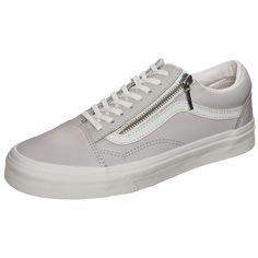 sports shoes 90893 15f46 Vans Old Skool Zip Sneaker Damen in grau   weiß im Online Shop von Baur  Versand