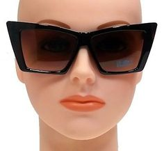 Extra Large Frame Reading Glasses : Extra Large Vintage Men or Women Square Classic Thick ...