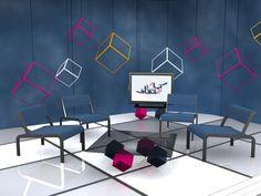 TV Set Design by Asif Raza at Coroflot.com
