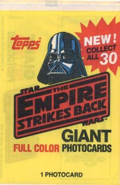 Empire Strikes Back Trading Cards, Packaging