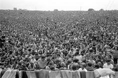 300,000 Strong, Woodstock Music & Art Fair, Bethel, NY, 1969 photo Baron Wolman