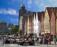 Fjord Cities of Norway; this is Bryggen – the Hanseatic Wharf in Bergen, Fjord Norway - Photo: Bergen Tourist Board/Robin Strand Wonderful Places, Great Places, Amazing Places, Beautiful Places, Visit Bergen, Places To Travel, Places To Go, Travel Destinations, Norway In A Nutshell