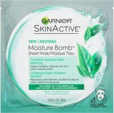Garnier SkinActive Moisture Bomb The Super Hydrating Sheet Mask Mattifying