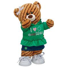 I Heart Cookies Girl Scouts Coconut Caramel Bear - Build-A-Bear Workshop US - $41.00