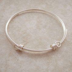 cool DIY Bijoux - Wire Bangle Bracelet ~ Wire Jewelry Tutorials...