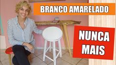 NUNCA MAIS deixe sua pintura amarelar - Pátina Provençal Diy Videos, Home Decor, Youtube, Diy Creative Ideas, Decorating Ideas, All White, Painting Furniture, Wood Paintings, Home Decor Ideas