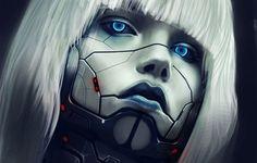 robot face art - Google Search