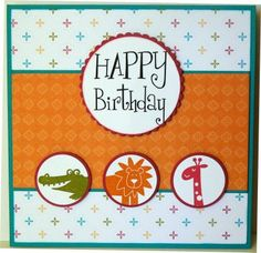 I like this layout. Can change it up for other inchies stamps and a more masculine pattern paper.