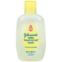 Johnson & Johnson Baby Wash Head-to-Toe - 3  Ounce