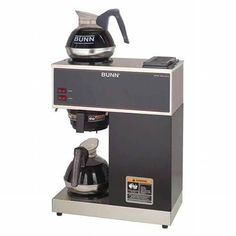 Bunn 12 Cup Pourover Commercial Coffee Brewer with 2 Warmers #CoffeeBrewer